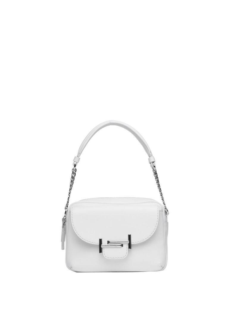 c2d03cd3fc1 Tod's White Camera Bag Double T Mini In Bianco | ModeSens
