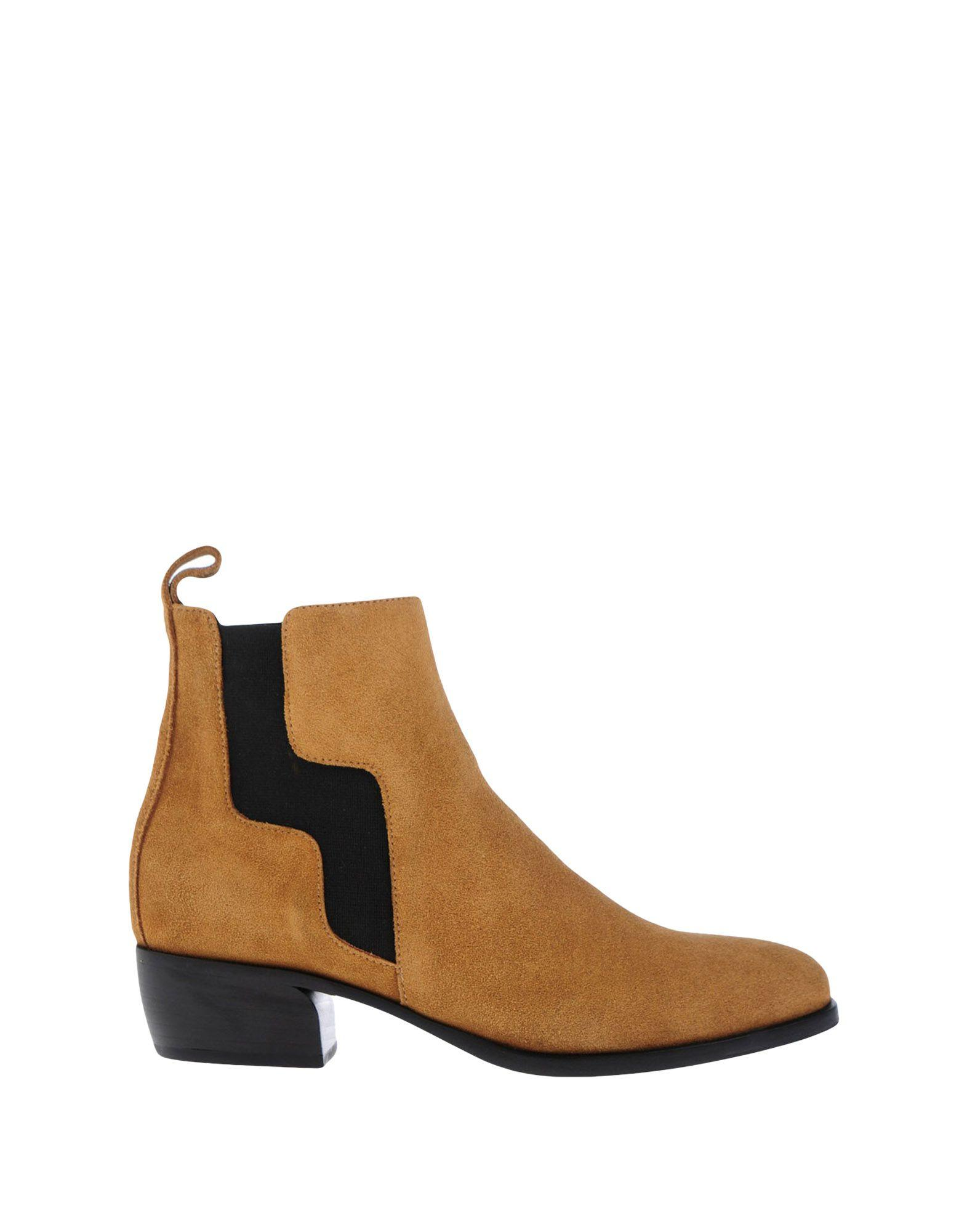 Pierre Hardy Ankle Boots In Sand