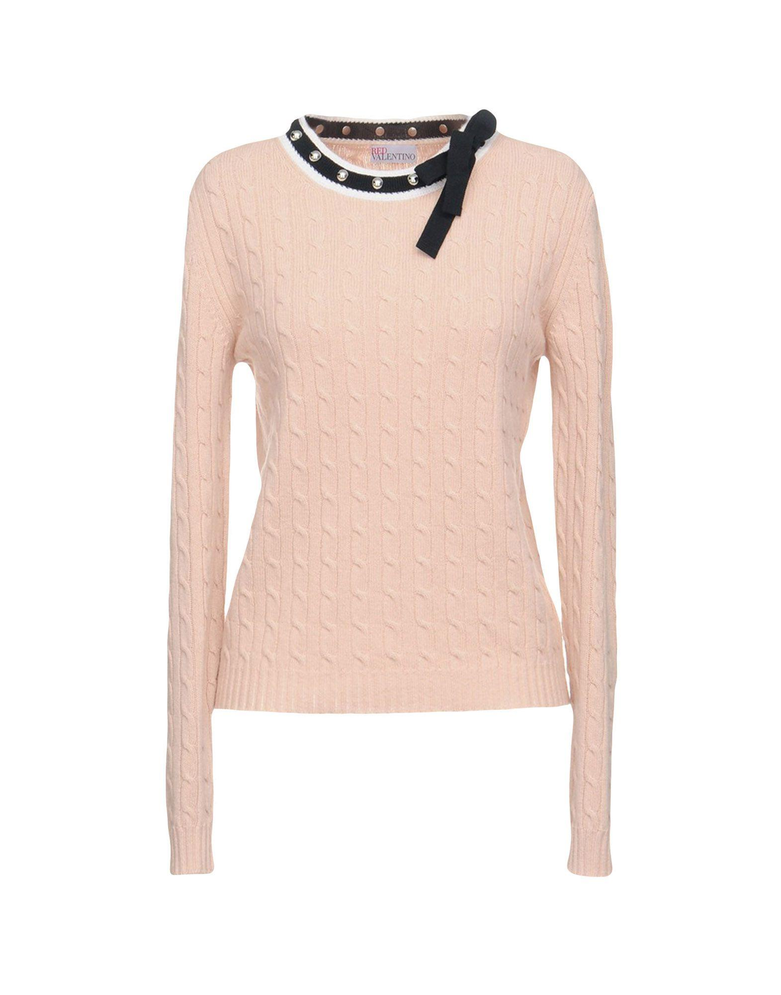 Red Valentino Sweater In Pale Pink