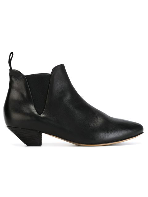MarsÈLl Elasticated Panel Chelsea Boots In Black