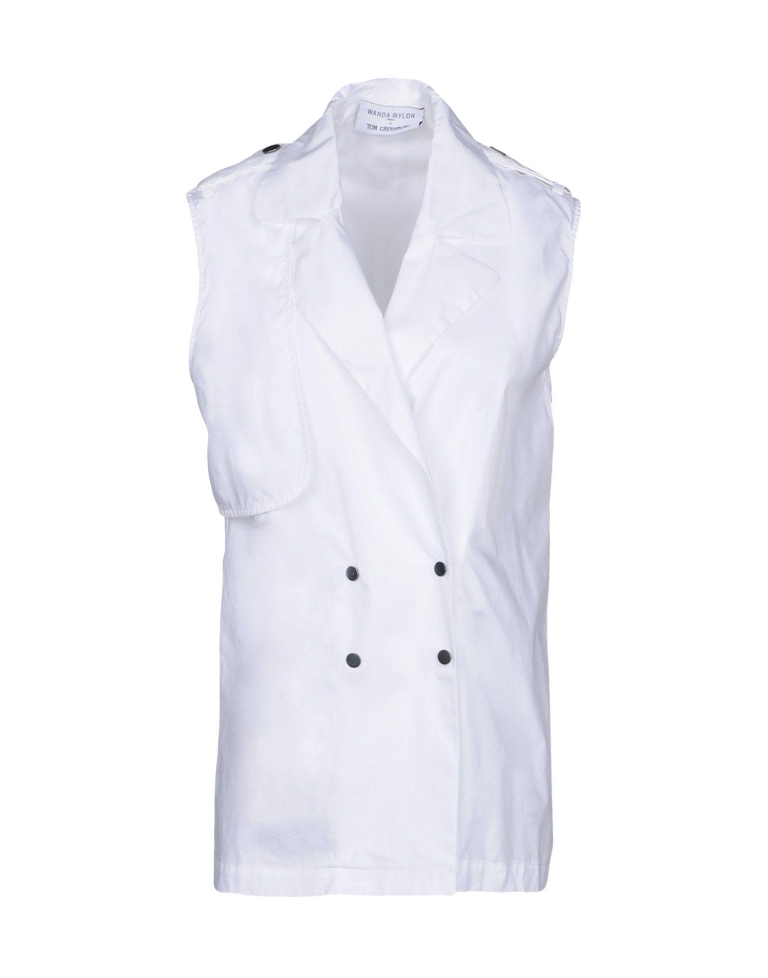 Wanda Nylon Blazer In White