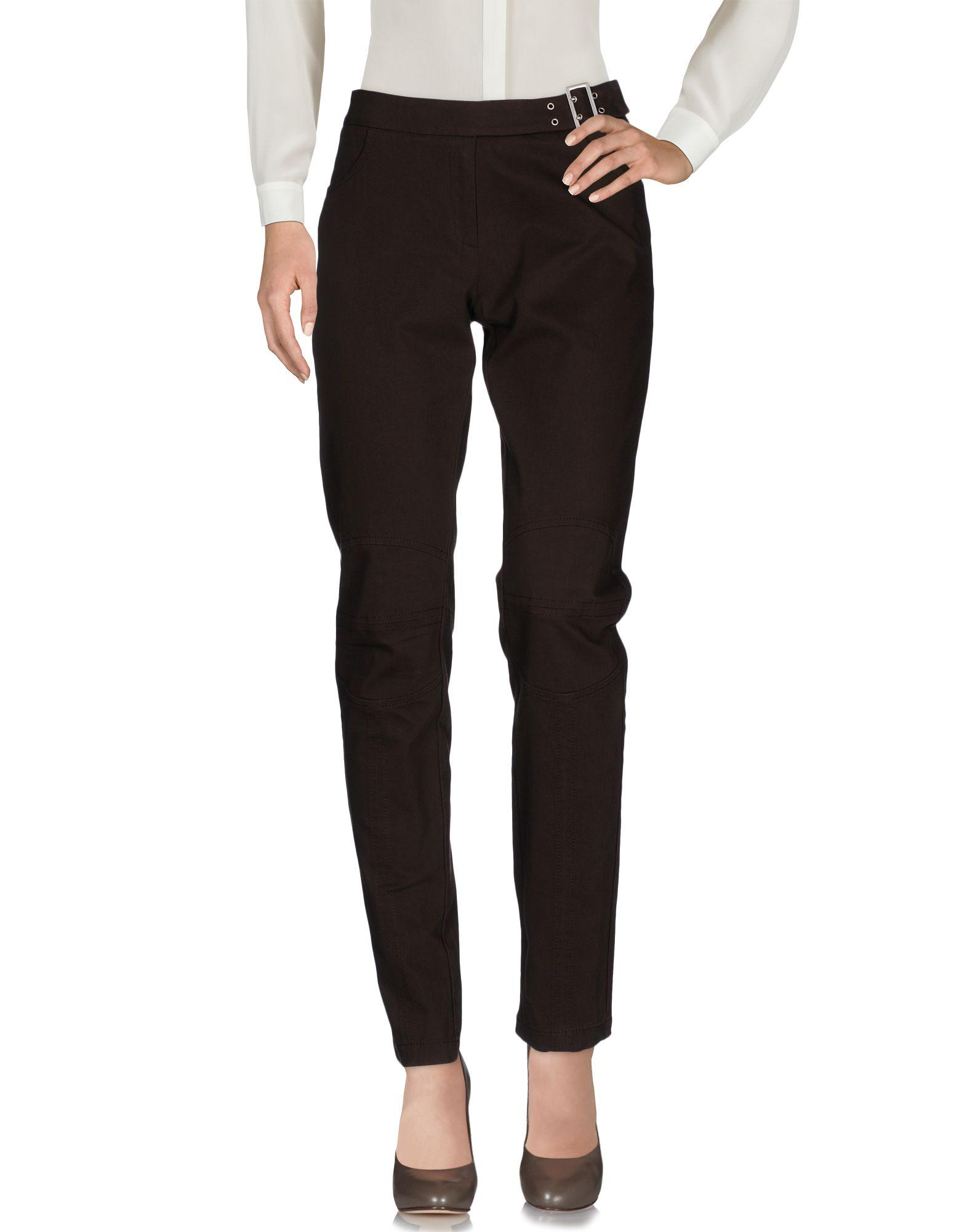 I'M Isola Marras Casual Pants In Dark Brown