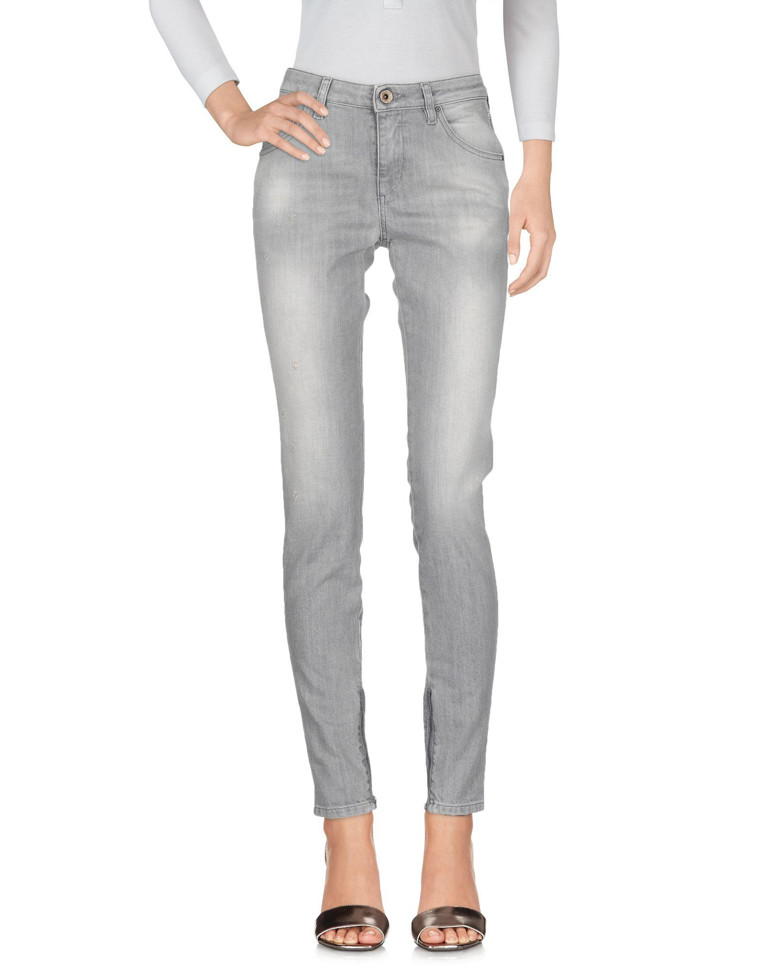 Diesel Black Gold Denim Pants In Grey