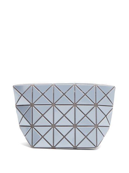 Bao Bao Issey Miyake Prism Top-Zip Pouch In Light Blue