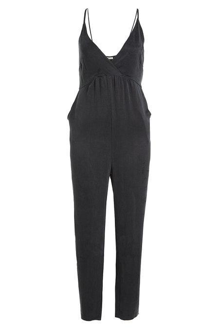 tarta Lijadoras granizo  American Vintage Jumpsuit In Black | ModeSens