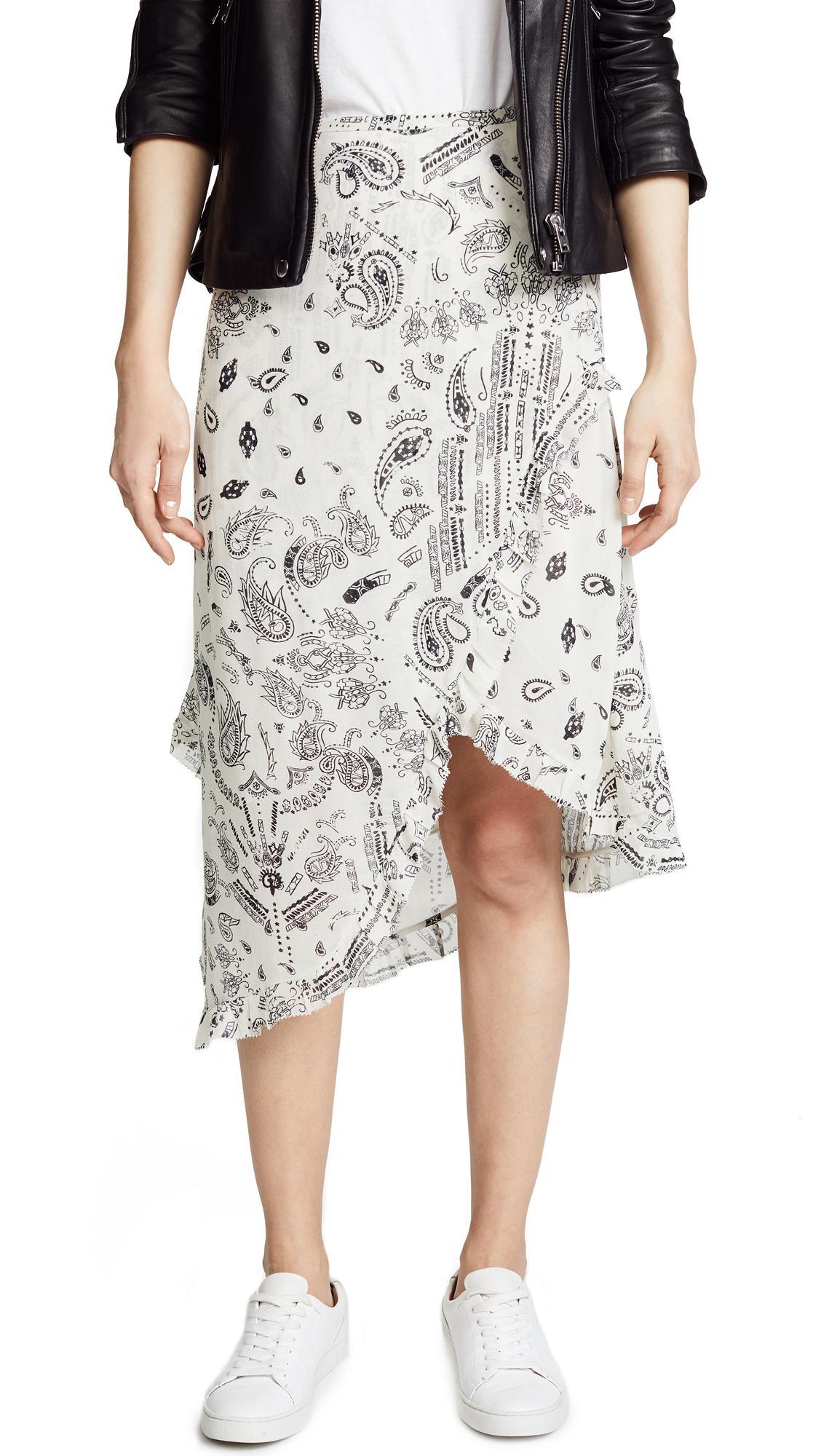 5bd356d00 Iro.Jeans Iro. Jeans Banem Skirt In White | ModeSens