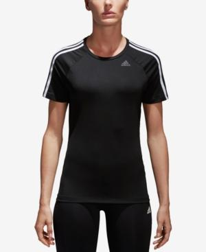 Adidas Originals Adidas Designed2Move Climalite T-Shirt In Black