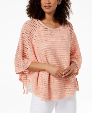 Eileen Fisher Organic Linen Sweater In Petal