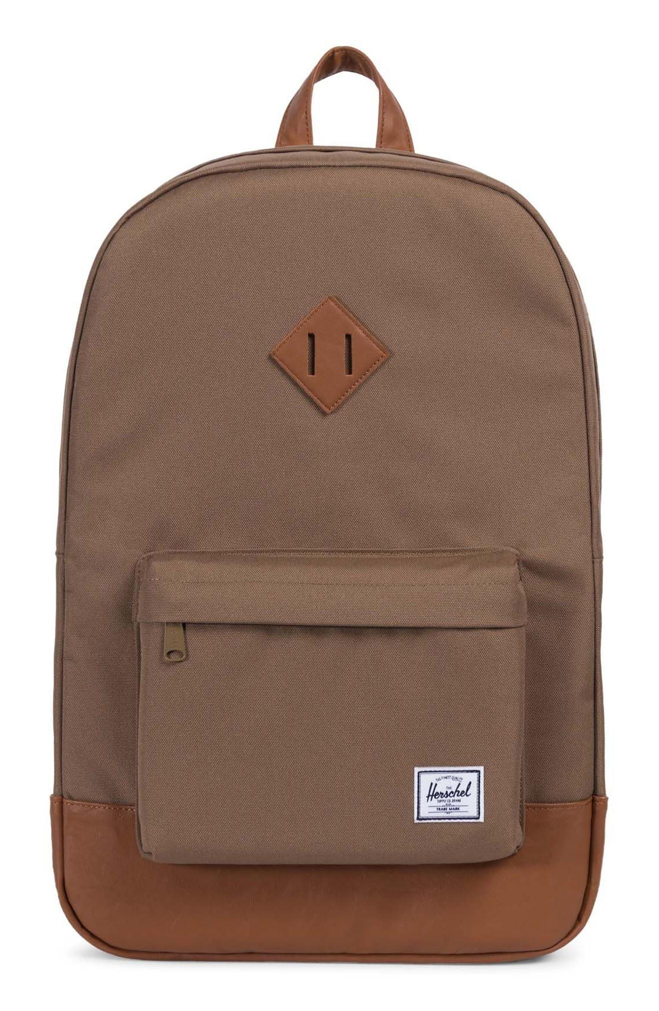 c968cb55c88 ... with adjustable padded shoulder straps to comfortably carry the weight  of everyday essentials. Style Name  Herschel Supply Co. Heritage Backpack.