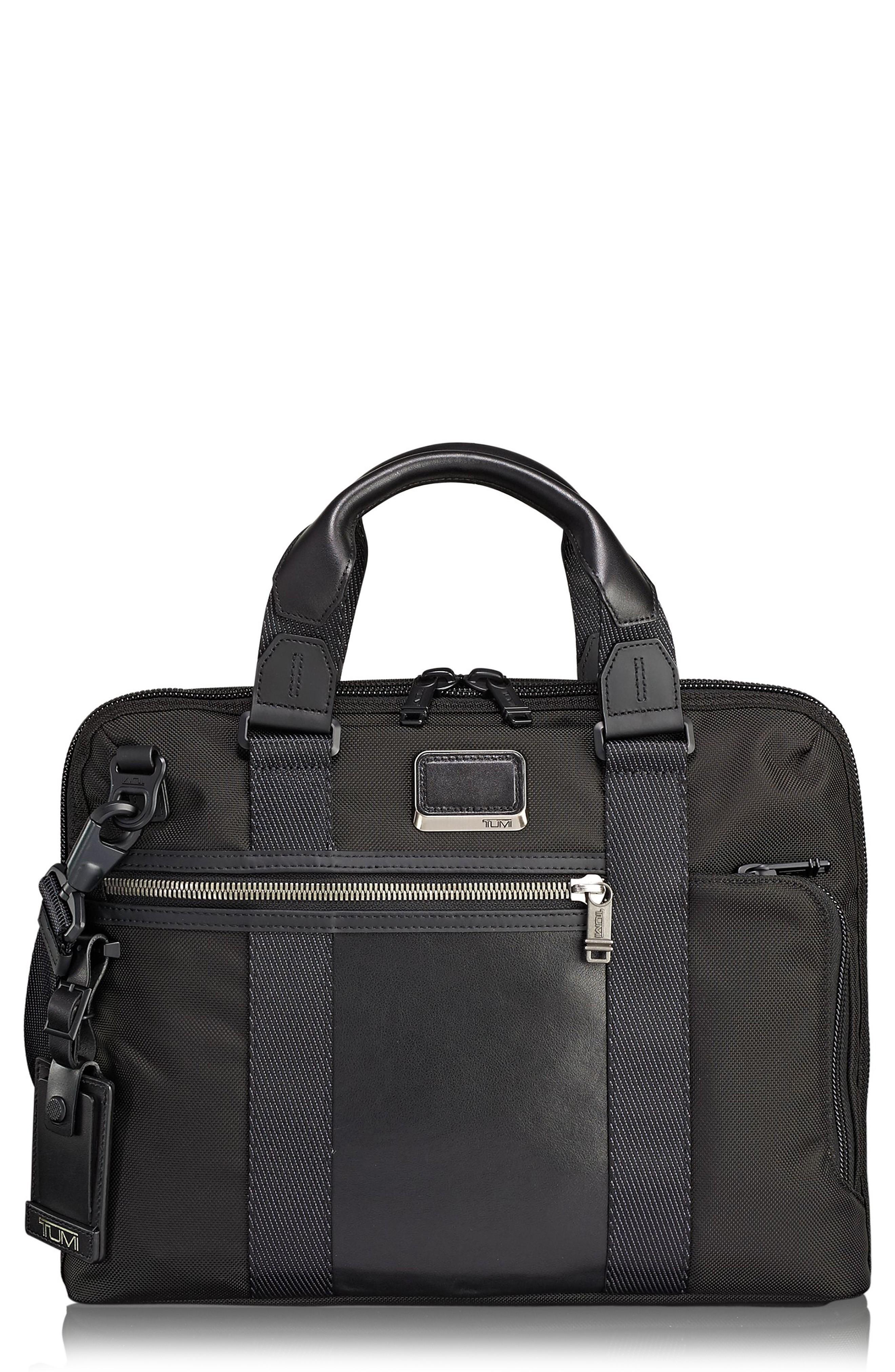 3eba3eb272a6 Tumi Alpha Bravo - Charleston Briefcase In Black