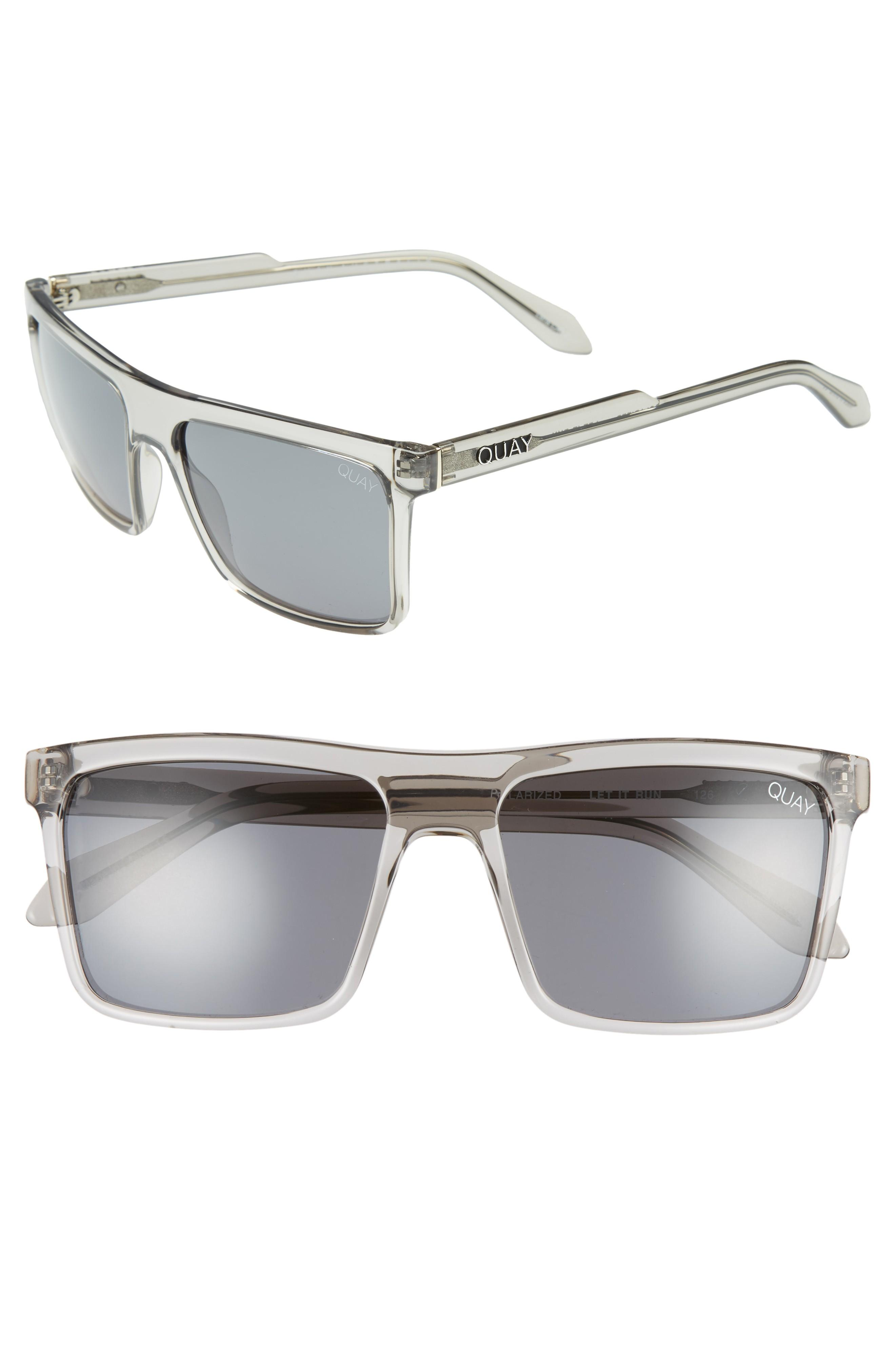 cf485ad29b Style Name  Quay Australia Let It Run 57Mm Polarized Sunglasses. Style  Number  5607807.