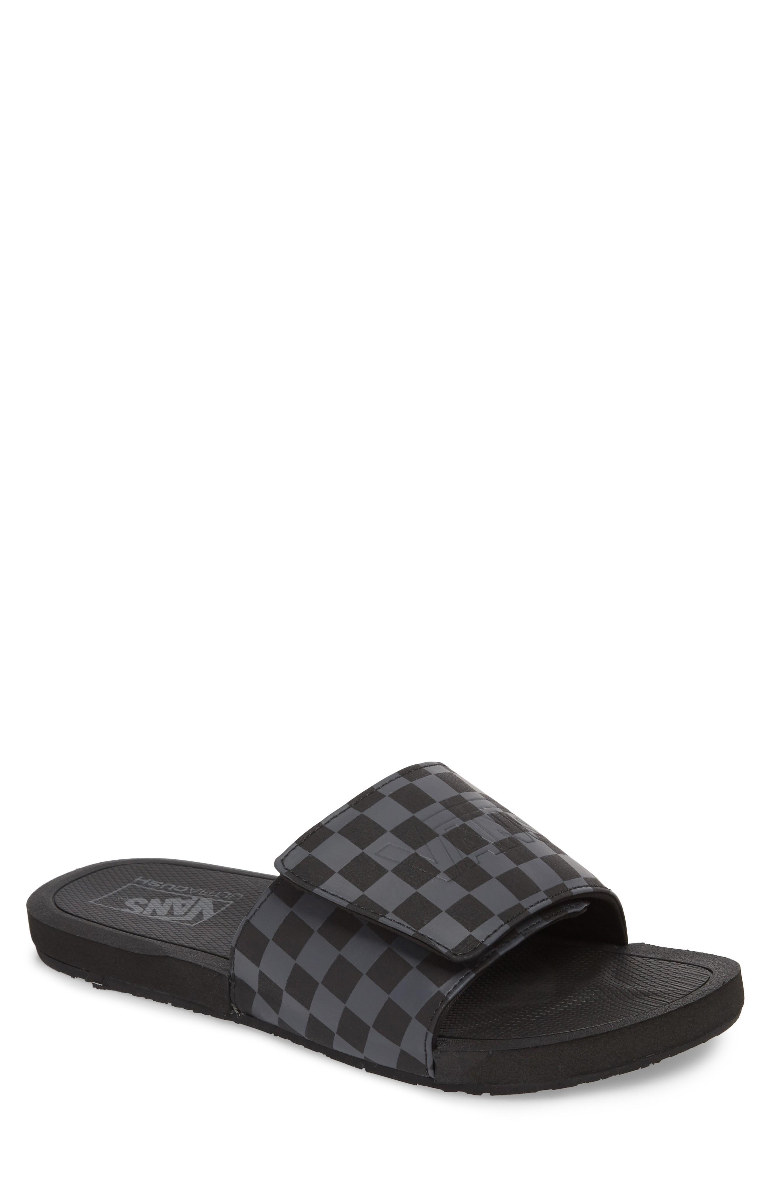 02a594ae85 Vans Nexpa Slide Sandal In Black  Asphalt