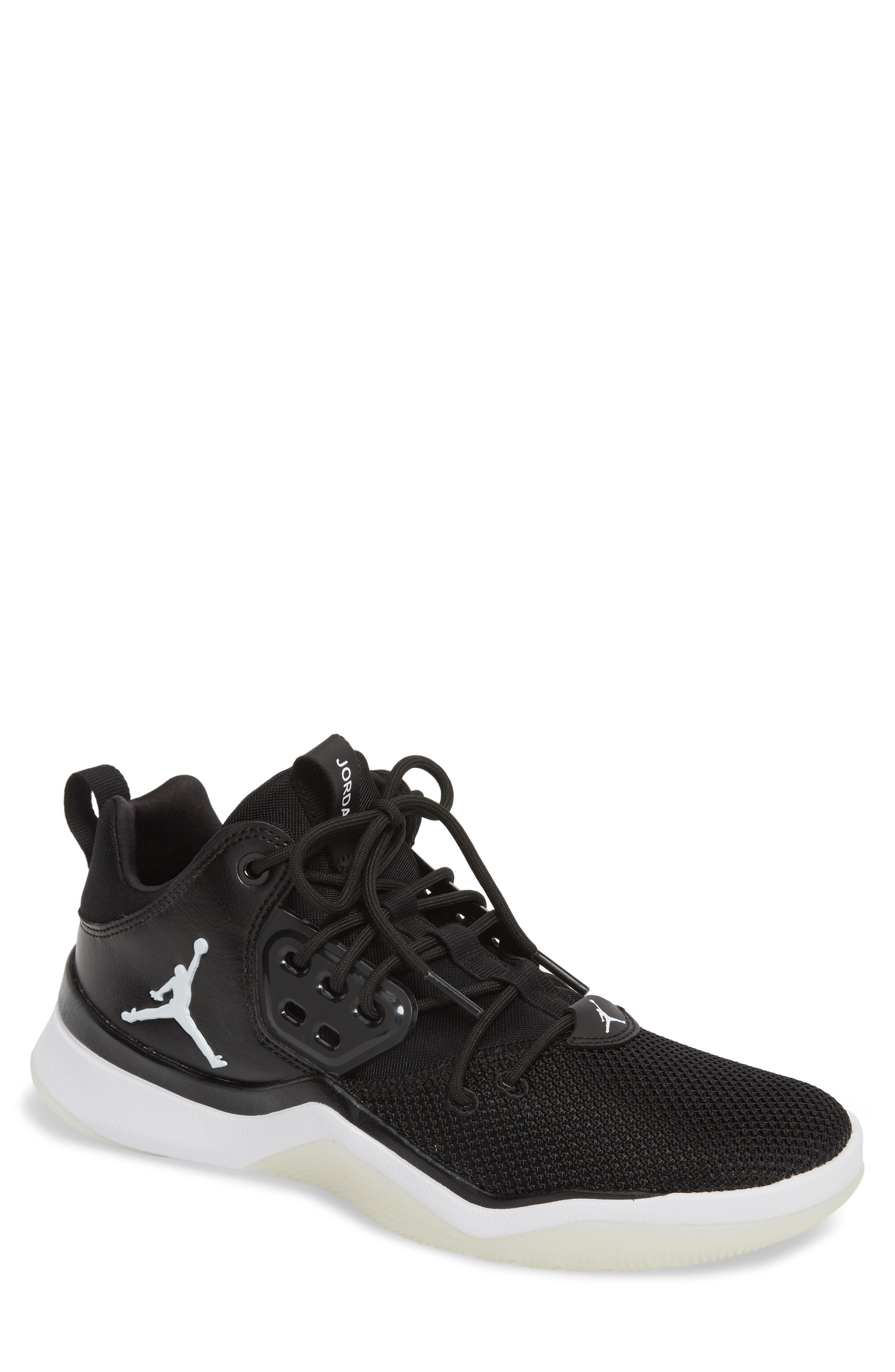 Nike Jordan Dna Sneaker In Black/ White