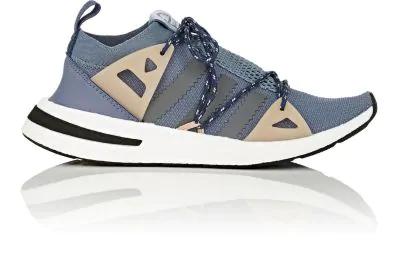 Arkyn Colorblock Mesh Sneakers, AshPearl Gray in Blue