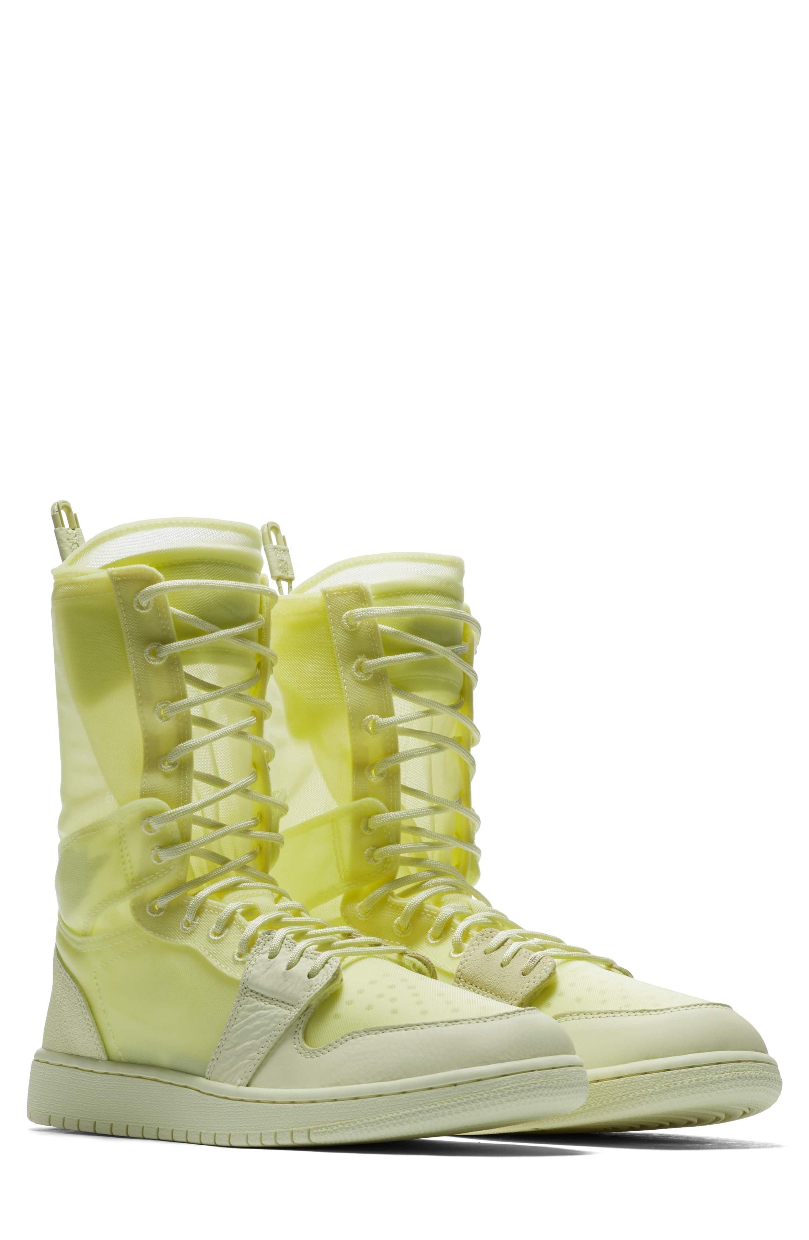 timeless design 125b2 f2537 Air Jordan 1 Explorer Xx Convertible High Top Sneaker in Luminous Green