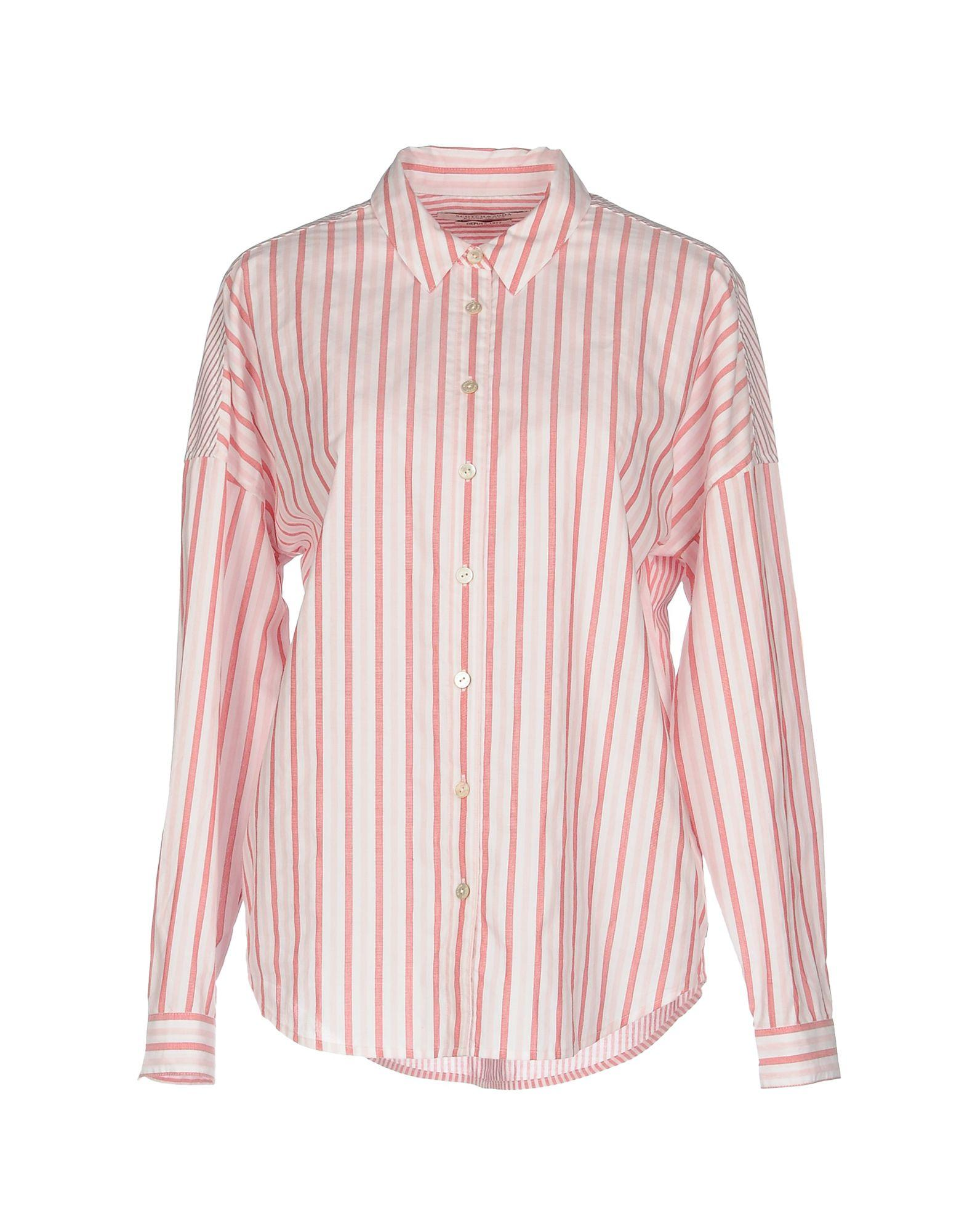 Maison Scotch Shirts In Pink