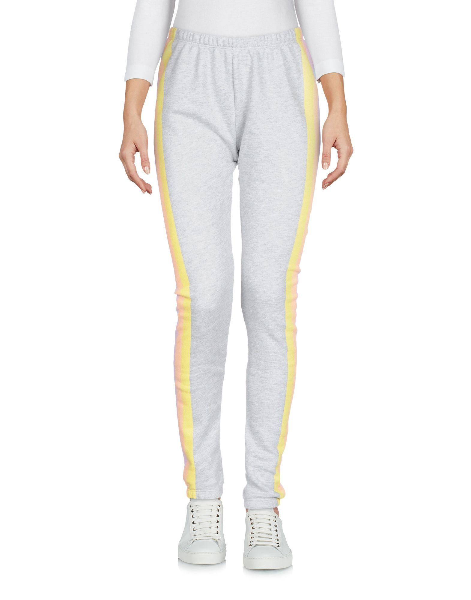 Wildfox Casual Pants In Light Grey