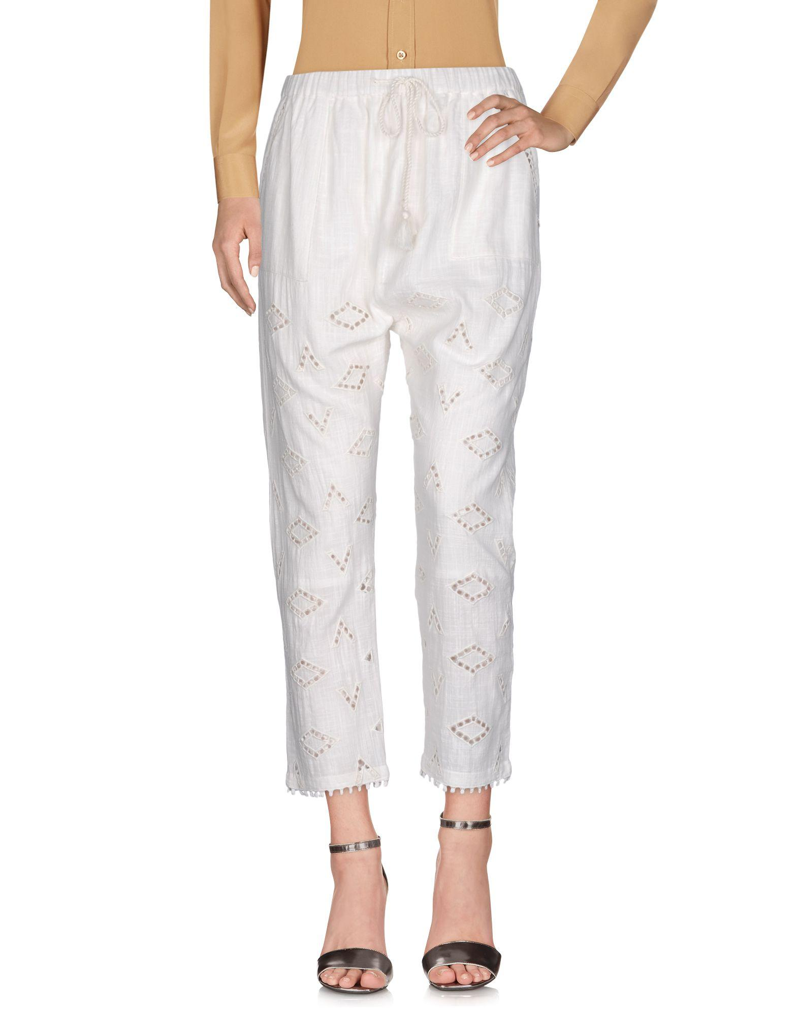 Maison Scotch Casual Pants In Ivory