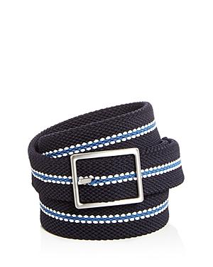 aaf94e83dc9 THE MEN S STORE AT BLOOMINGDALE S. The Men S Store At Bloomingdale S Woven  Stretch Stripe Reversible Belt - 100% Exclusive ...