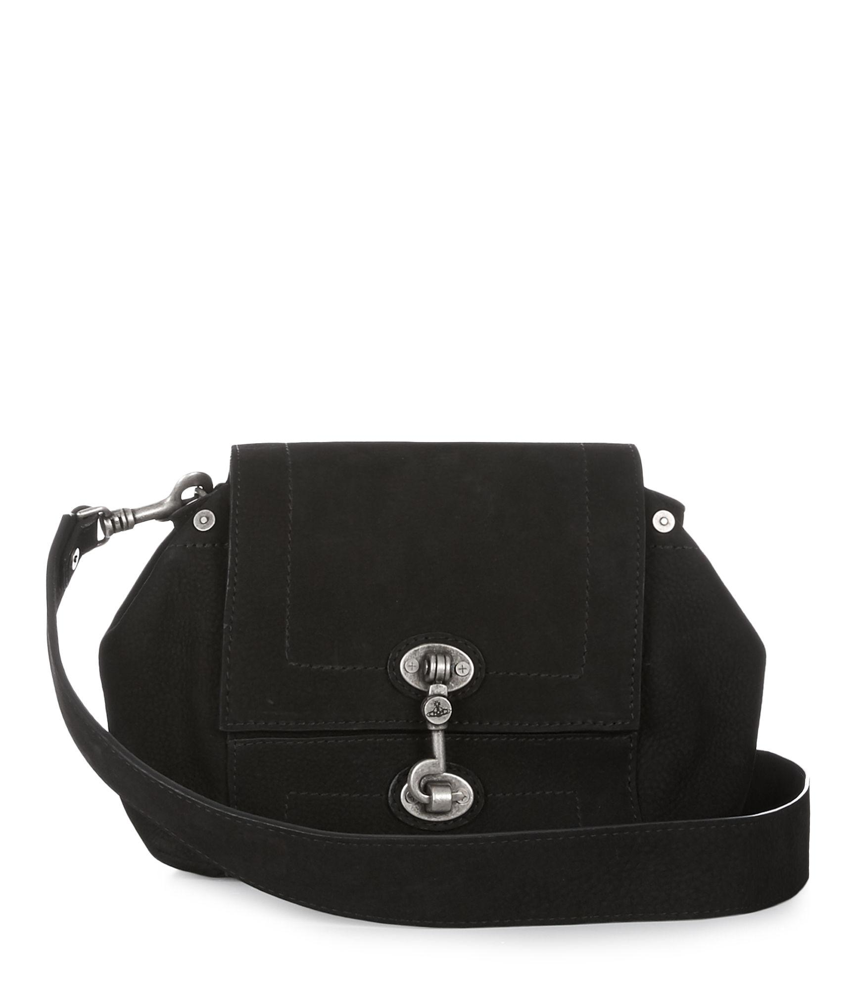 21bfb68abca Vivienne Westwood Manchester Crossbody Bag 43030022 Black | ModeSens