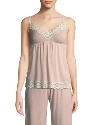 Eberjey Lady Godiva Camisole In Light Pink