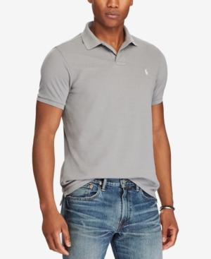 bd050d87829 Polo Ralph Lauren Men s Big   Tall Classic Fit Mesh Polo In Perfect  Grey Sp18
