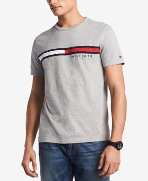 7b5325afa Tommy Hilfiger Men s Big   Tall Embroidered Logo T-Shirt