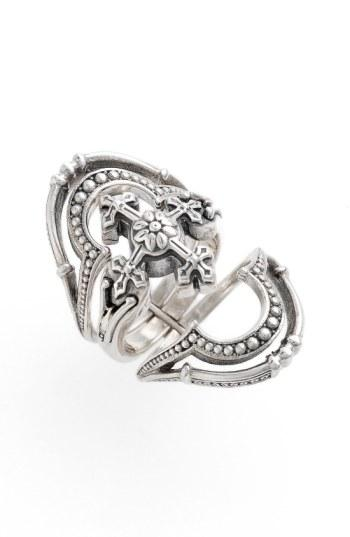 Konstantino 'Penelope' Openwork Ring In Silver