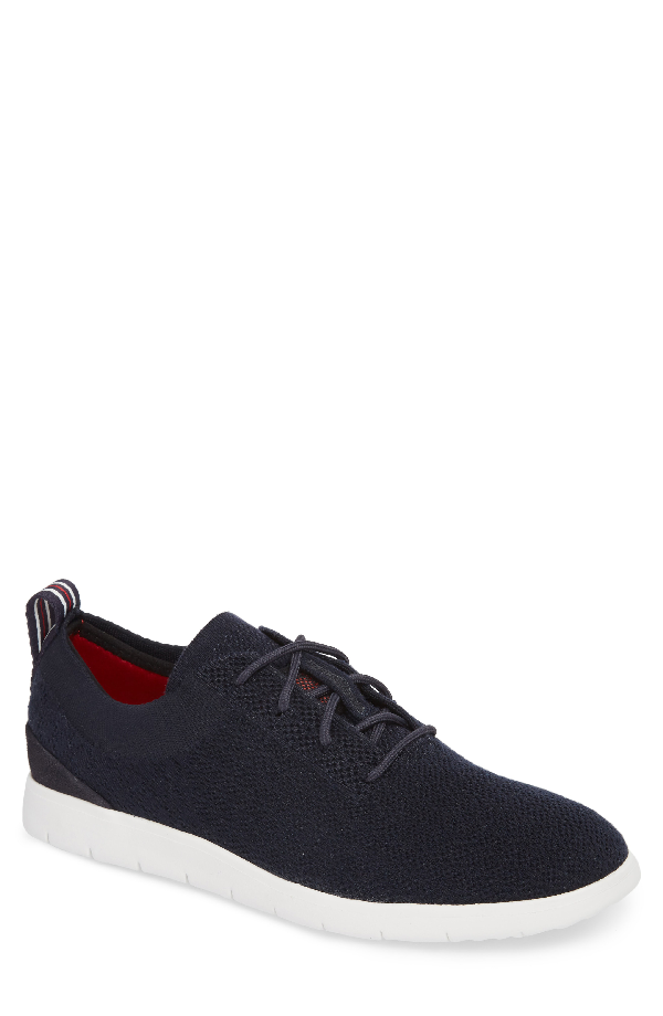 a007d4dc71a Ugg Men's Feli Hyperweave Knit Lace Up Sneakers In Seal Leather ...