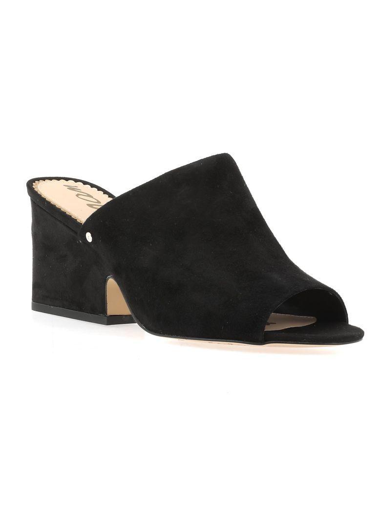 Sam Edelman Leather Sandal In Black
