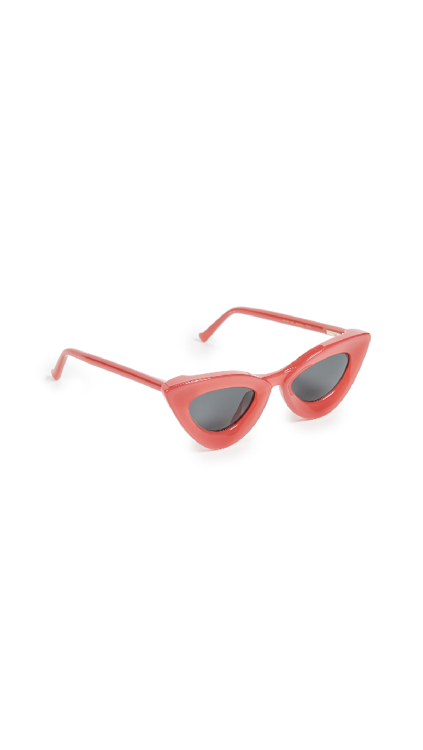 Grey Ant Cat Eye Sunglasses In Pink/Grey