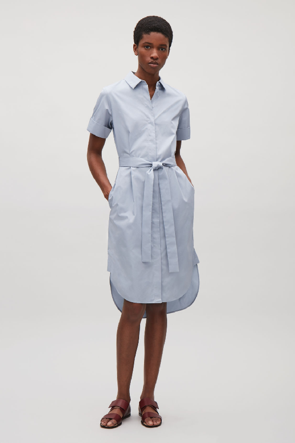 In Dress BlueModesens Belted Shirt Cos TJlFK1c