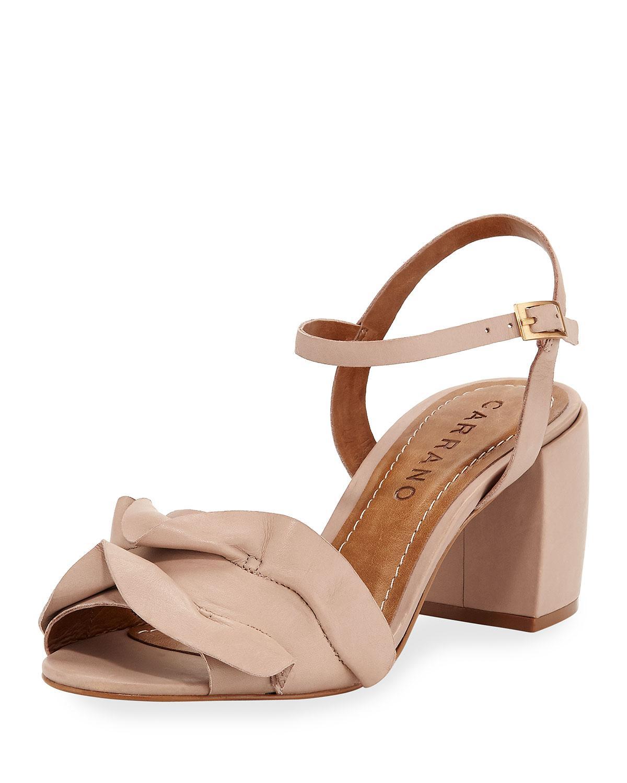 c384d6c9a016f Carrano Moira Leather Platform Sandal In Bella