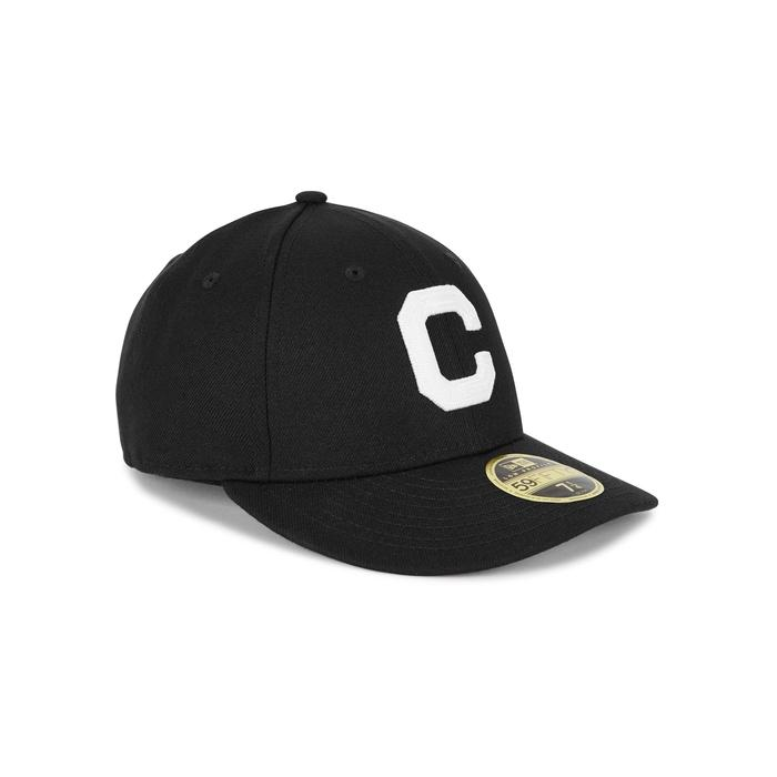 New Era Cleveland Indians Embroidered Cap In Navy