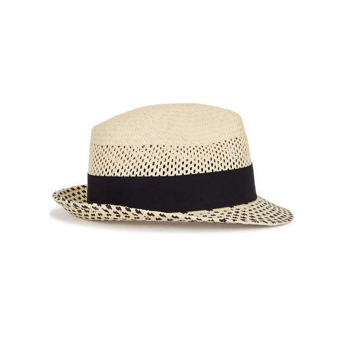 04ce16296ba0a Christys  London Hoxton Cream Straw Panama Hat In Beige
