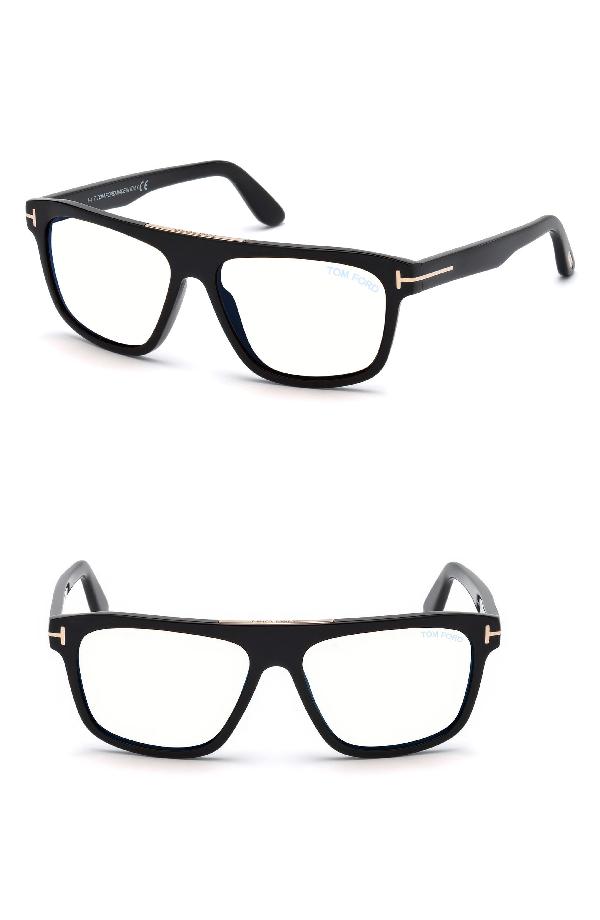 ee66ec91b5dc Tom Ford Men s Rectangular Acetate Eyeglasses