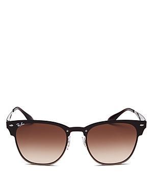 ff14c8720cc0d Ray Ban Ray-Ban Unisex Blaze Clubmaster Polarized Gradient Sunglasses