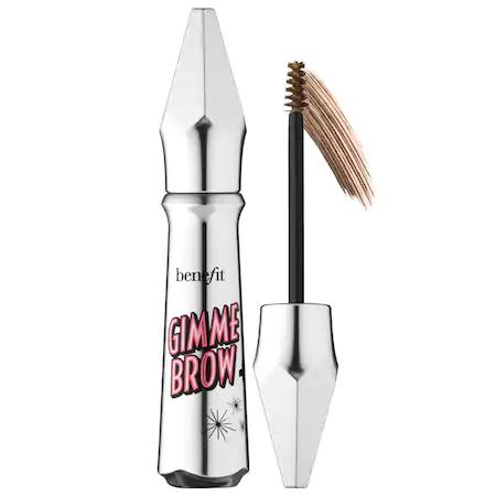 Benefit Cosmetics Benefit Gimme Brow+ Volumizing Eyebrow Gel, 0.1 oz In Shade 4 - Medium (warm Deep Brown)