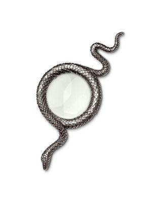 L'objet Snakes Platinum Magnifying Glass In Grey