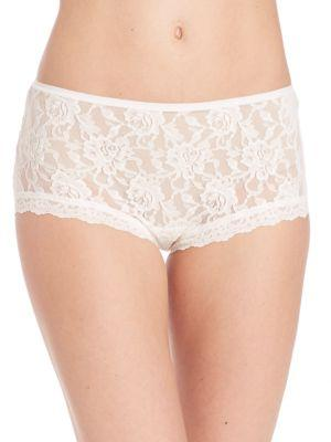 Hanky Panky Women's Signature Lace High-waist Brief In Marshmellow