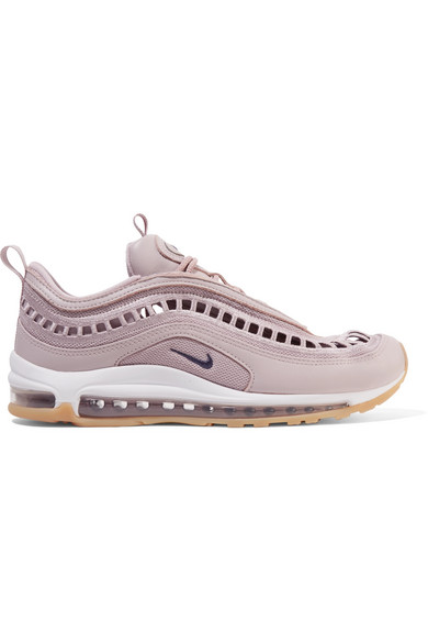 sports shoes bf37a 7c2e2 Nike Air Max 97 Ultra 17 Si Cutout Mesh And Leather Sneakers In Lilac