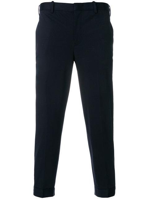 Neil Barrett Tapered Trousers - 415-Dark Navy