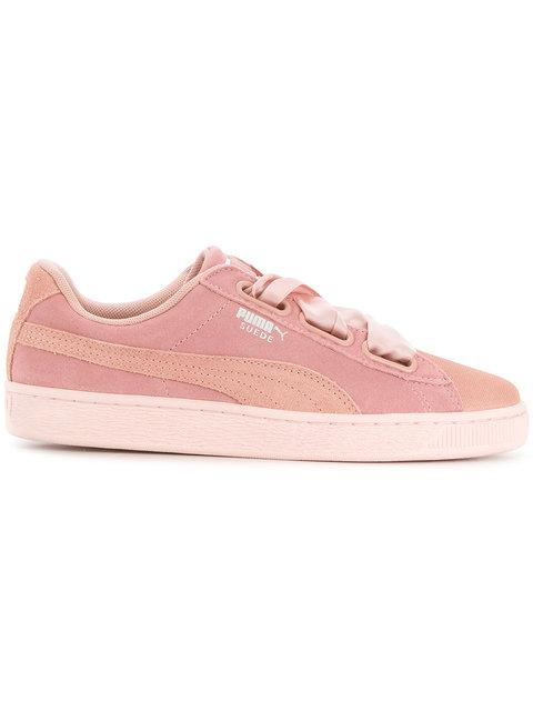 Puma Low Top Sneakers In Pink