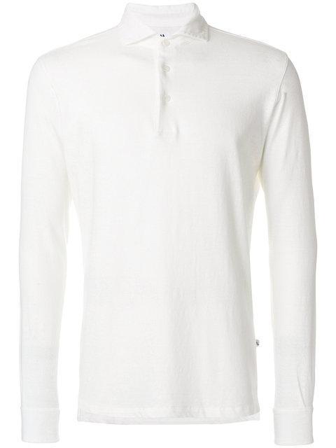 Doppiaa Long-sleeved Polo Shirt