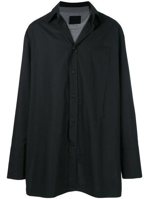 Bmuette Long-line Button Shirt
