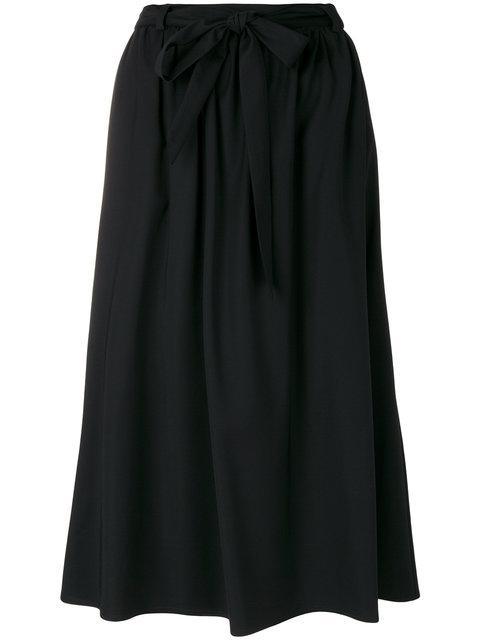 Marcha Valerie Midi Skirt - Black