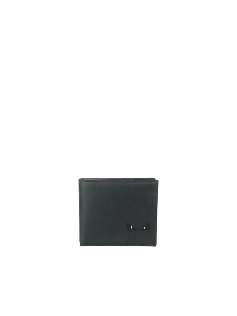 Fendi Bag Bugs Wallet In Black