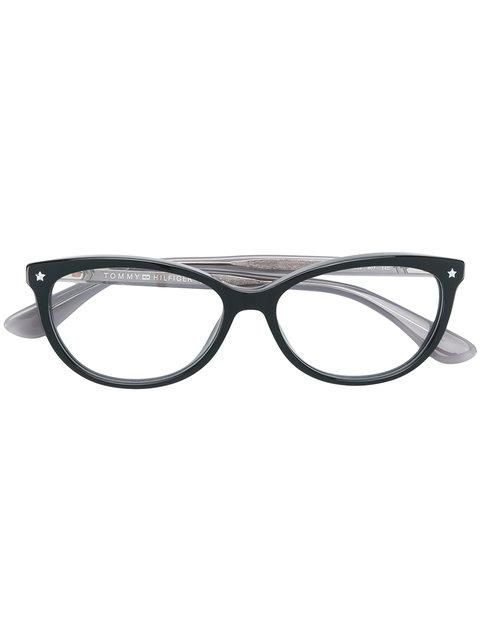 ce05766e0dee Tommy Hilfiger Cat Eye-Frame Glasses - Black