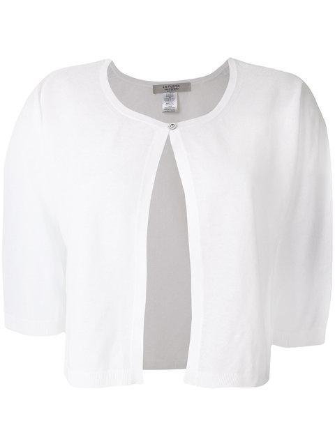 La Fileria For D'aniello Short Sleeve Single Button Cardigan