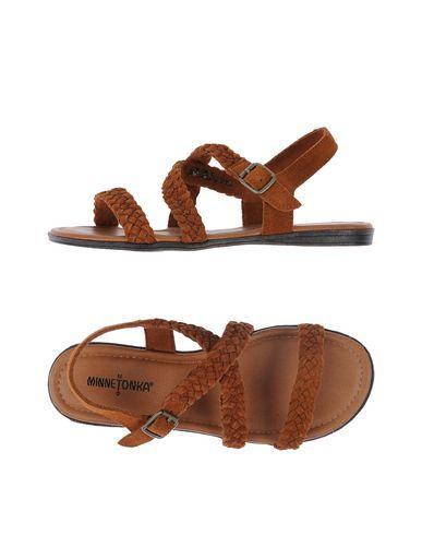 Minnetonka Sandals In Brown
